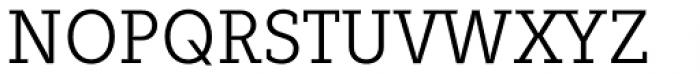 Fenomen Slab SCN Light Font UPPERCASE