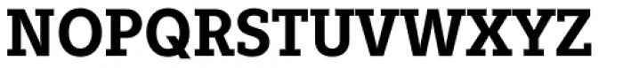 Fenomen Slab SCN SemiBold Font UPPERCASE