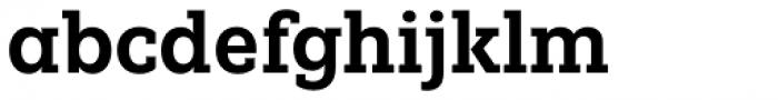 Fenomen Slab SCN SemiBold Font LOWERCASE