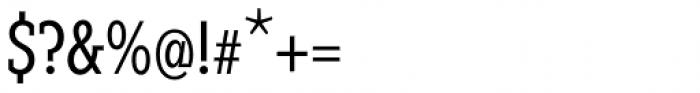 Fenomen Slab XCN Book Font OTHER CHARS