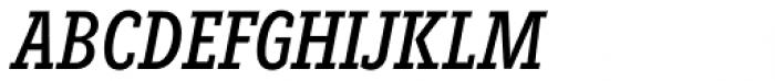 Fenomen Slab XCN Italic Font UPPERCASE