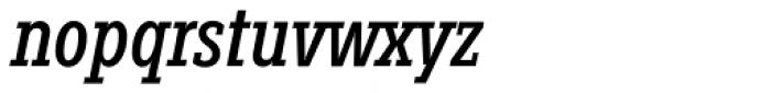 Fenomen Slab XCN Italic Font LOWERCASE
