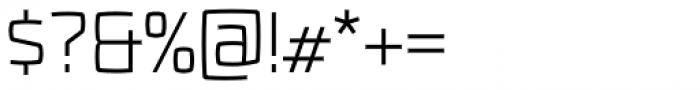 Fenton Light Font OTHER CHARS