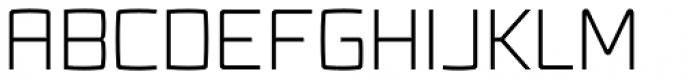 Fenton Light Font UPPERCASE