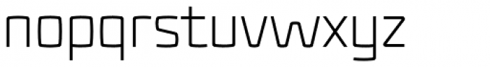 Fenton Light Font LOWERCASE