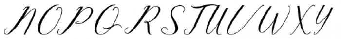 Feraldine Script Regular Font UPPERCASE