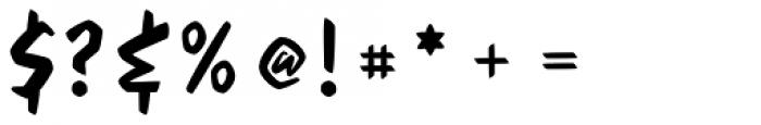 Feris Script Font OTHER CHARS