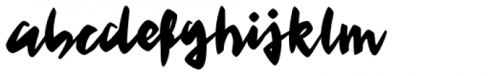 Feris Script Font LOWERCASE