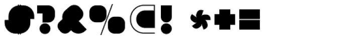 Ferkanta Unsliced Font OTHER CHARS