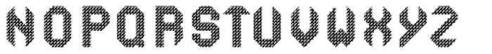 Ferrocarbon Graphene Font UPPERCASE