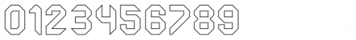 Ferrocarbon Hollow Font OTHER CHARS