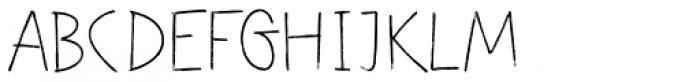 Festa Brush Light Font UPPERCASE