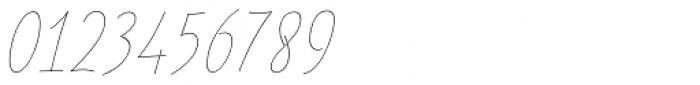 Festa Light Italic Font OTHER CHARS