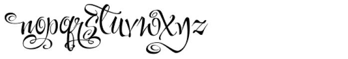 Festive Eight Font LOWERCASE