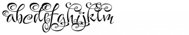 Festive Five Font LOWERCASE