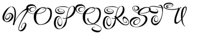 Festive Four Font UPPERCASE