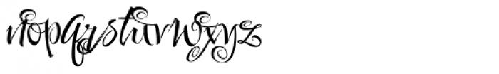Festive Four Font LOWERCASE