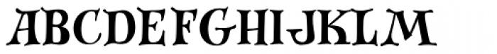 Festive Roman Font LOWERCASE