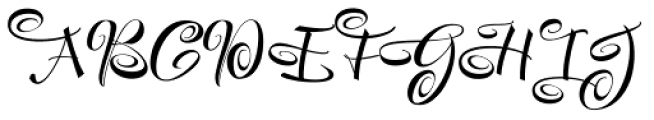 Festive Two Font UPPERCASE
