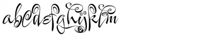 Festive Two Font LOWERCASE