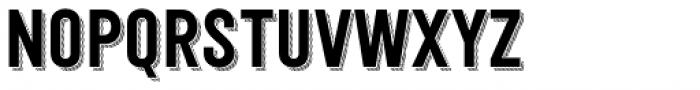 Festivo Clean Shadow3 Font UPPERCASE