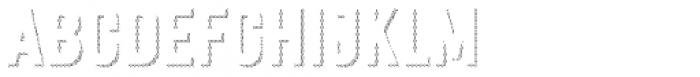 Festivo Clean Shadows5 Font UPPERCASE