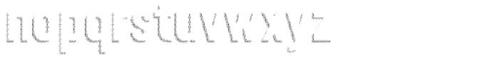 Festivo Clean Shadows6 Font LOWERCASE