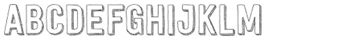 Festivo LC 3D Font UPPERCASE
