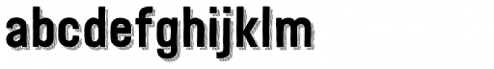 Festivo LC Basic R Line Font LOWERCASE
