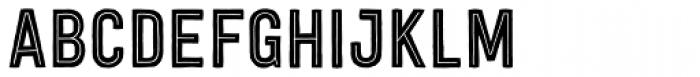 Festivo LC Inline Font UPPERCASE