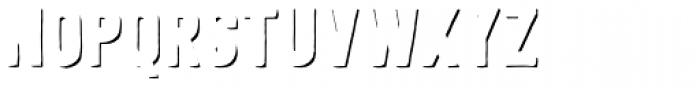 Festivo LC R Shadows Font UPPERCASE