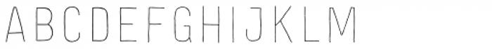 Festivo Letters No.16 Font LOWERCASE