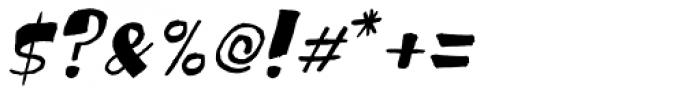 Festo Italic Font OTHER CHARS