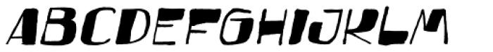Festo Italic Font UPPERCASE