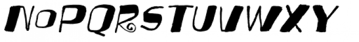 Festo Italic Font LOWERCASE