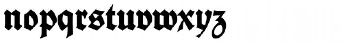 Fette Deutsche Schrift Font LOWERCASE