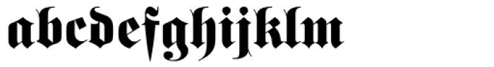 Fette Fraktur Dfr Font LOWERCASE