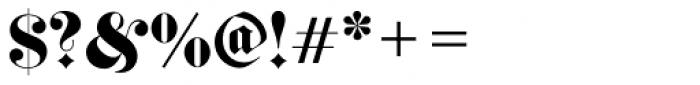 Fette Fraktur Initials D Font OTHER CHARS