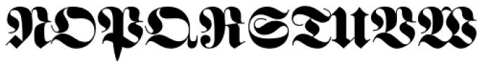 Fette Fraktur Pro Font UPPERCASE