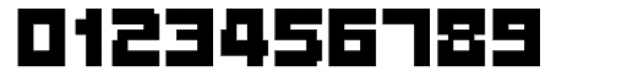 Fette Pixel Font OTHER CHARS