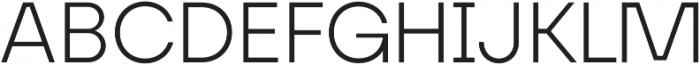 FFF Minnerva Light otf (300) Font UPPERCASE