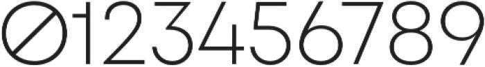 FFF Minnerva Ultra Light otf (300) Font OTHER CHARS