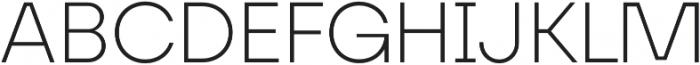 FFF Minnerva Ultra Light otf (300) Font UPPERCASE