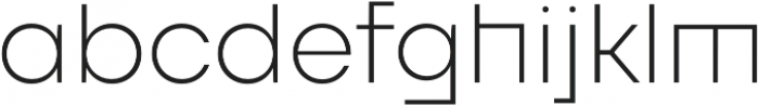 FFF Minnerva Ultra Light otf (300) Font LOWERCASE