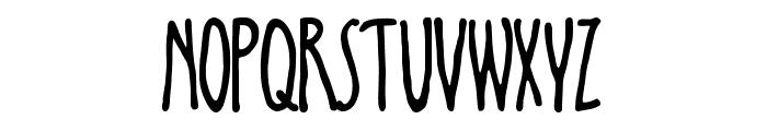 FF-Nosebleed Normal Font UPPERCASE