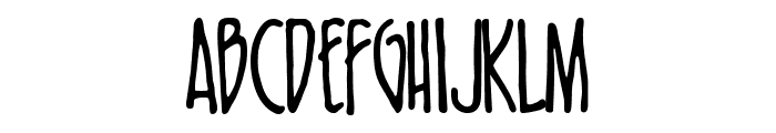 FF-Nosebleed Normal Font LOWERCASE