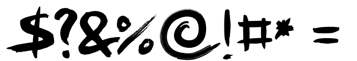 FFAD Matro Regular Font OTHER CHARS