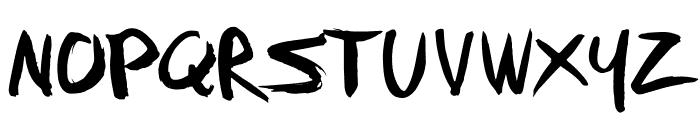 FFAD Matro Regular Font UPPERCASE