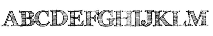 FFF Tusj Bold Font UPPERCASE
