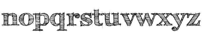 FFF Tusj Bold Font LOWERCASE